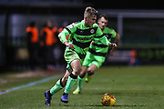 Forest Green Rovers George Williams(11) runs forward during the EFL Sky Bet League 2 match between Forest Green Rovers and Mansfield Town at the New Lawn, Forest Green, United Kingdom on 29 January 2019.