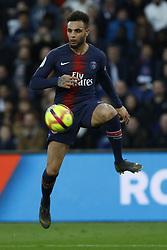 February 23, 2019 - Paris, France - Layvin Kurzawa during the French L1 football match between Paris Saint-Germain and Nimes at the Parc de Princes in Paris on 23 February 2019. (Credit Image: © Mehdi Taamallah/NurPhoto via ZUMA Press)