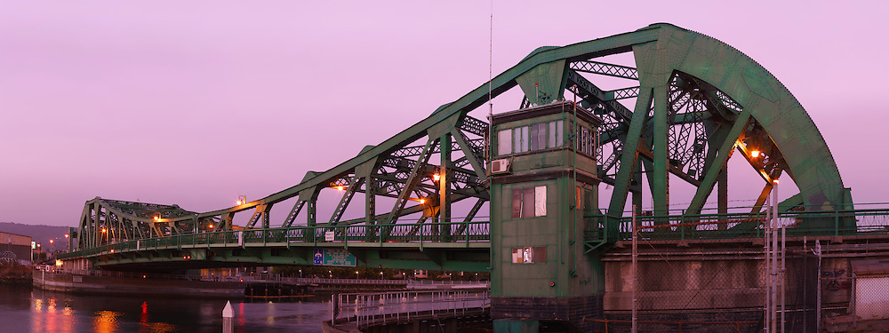 Drawbridge at Sunset. (47156 x 17673 pixels)