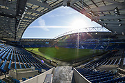 General View of the American Express Community Stadium ahead of the Premier League match between Brighton and Hove Albion and Aston Villa at the American Express Community Stadium, Brighton and Hove, England on 18 January 2020.