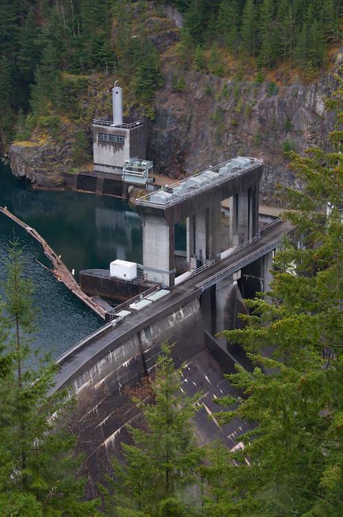 Gorge Dam, North Cascades National Park, Washington, US