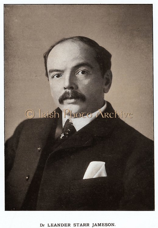 Leander Starr Jameson (1853-1917) Scottish-born South African statesman. Leader of 'Jameson Raid', 29 December 1895 to 2 January 1896
