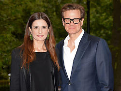 Livia Firth and Colin Firth attend The True Cost UK Film Premiere at Curzen Bloomsbury, The Brunswick, London on Wednesday 27 May 2015
