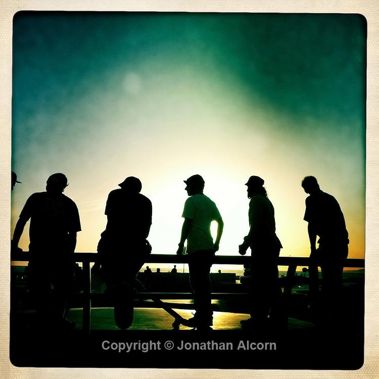 March 9, 2011  Venice Beach Skate Park.©Jonathan Alcorn 2011