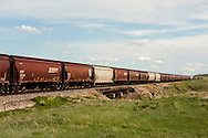 Coal train, north of Coalstrip, Montana