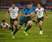 PRETORIA, SOUTH ARICA - MARCH 17: Jason Jenkins of the Vodacom Bulls in action during the Super Rugby match between Vodacom Bulls and Sunwolves at Loftus Versfeld on March 17, 2017 in Pretoria, South Africa. (Photo by Anton Geyser/Gallo Images)
