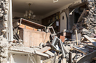 A house in Amatrice. A 6,4 earthquake has hit central Italy during the night between the 23 and 24 August killing more than 100. The town of Amatrice is been heavily damaged.
