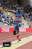 Pedro Pablo Pichardo of Cuba competes in Triple Jump Men during the International Athletics Meeting Herculis, IAAF Diamond League, Monaco on July 17, 2015 at Louis II  stadium in Monaco, France - Photo Jean-Marie Hervio / KMSP / DPPI