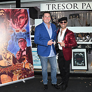 Tony Hadley, Naeem Mahmood arrives at Tresor Paris In2ruders - launch at Tresor Paris, 7 Greville Street, Hatton Garden, London, UK 13th September 2018.