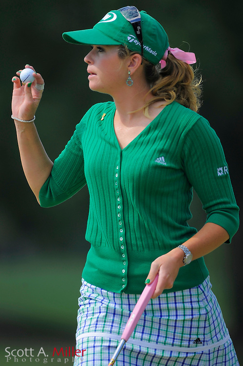 Paula Creamer in action during the first round of the Ginn Open at Reunion Resort on April 17, 2008 in Reunion, Florida...©2008 Scott A. Miller