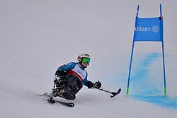 PEDERSEN Jesper LW11 NOR at 2018 World Para Alpine Skiing Cup, Kranjska Gora, Slovenia