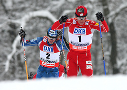Second times world champion Todd Lodwick of USA  at Nordic Combined Individual Gundersen NH, 10 km, at FIS Nordic World Ski Championships Liberec 2008, on February 22, 2009, in Vestec, Liberec, Czech Republic. (Photo by Vid Ponikvar / Sportida)