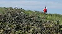 DOMBURG -  Afslag hole 1.  Domburgsche Golf Club in Zeeland (Walcheren) .    COPYRIGHT KOEN SUYK