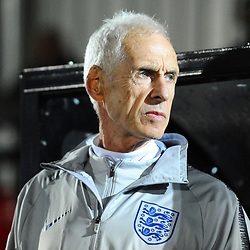 19/3/2019 - England manager Paul Fairclough during the C International between England and Wales at the Peninsula Stadium, Salford.<br /> <br /> Pic: Mike Sheridan/County Times<br /> MS023-2019