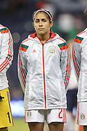 16 October 2014: Arianna Romero (MEX). The Mexico Women's National Team played the Costa Rica Women's National Team at Sporting Park in Kansas City, Kansas in a 2014 CONCACAF Women's Championship Group B game, which serves as a qualifying tournament for the 2015 FIFA Women's World Cup in Canada. Costa Rica won the game 1-0.