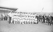 The victorious Derry at the All Ireland Minor Gaelic football final Derry v. Kerry in Croke park on the 26th September 1965.