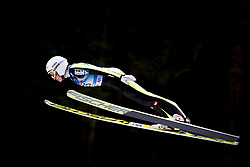 Daniela Iraschko-Stolz from Austria during Qualification Round at Day 2 of FIS Ski Jumping World Cup Ladies Ljubno 2018, on January 27, 2018 in Ljubno ob Savinji, Slovenia. Photo by Urban Urbanc / Sportida