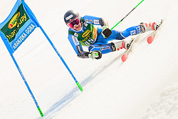 March 9, 2019 - Kranjska Gora, Kranjska Gora, Slovenia - Fabian Wilkens Solheim of Norway in action during Audi FIS Ski World Cup Vitranc on March 8, 2019 in Kranjska Gora, Slovenia. (Credit Image: © Rok Rakun/Pacific Press via ZUMA Wire)