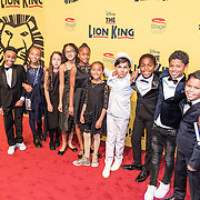 NLD/Scheveningen/20161030 - Premiere musical The Lion King, alternatives, kinderen,