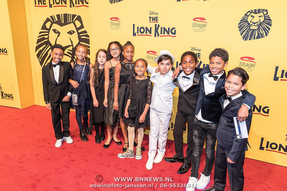 NLD/Scheveningen/20161030 - Premiere musical The Lion King, alternatives, kinderen,