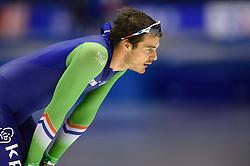 11-12-2015 NED: ISU World Cup, Heerenveen<br /> 500 meter / Hein  Otterspeer wordt 14de op de 500 meter