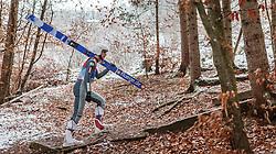 05.01.2016, Paul Ausserleitner Schanze, Bischofshofen, AUT, FIS Weltcup Ski Sprung, Vierschanzentournee, Training, im Bild Ronan Lamy Chappuis (FRA) // Ronan Lamy Chappuis of France before his Practice Jump for the Four Hills Tournament of FIS Ski Jumping World Cup at the Paul Ausserleitner Schanze, Bischofshofen, Austria on 2016/01/05. EXPA Pictures © 2016, PhotoCredit: EXPA/ JFK