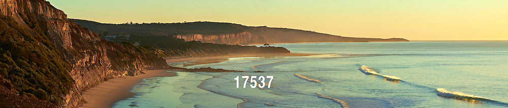 Anglesea cliffs at sunrise