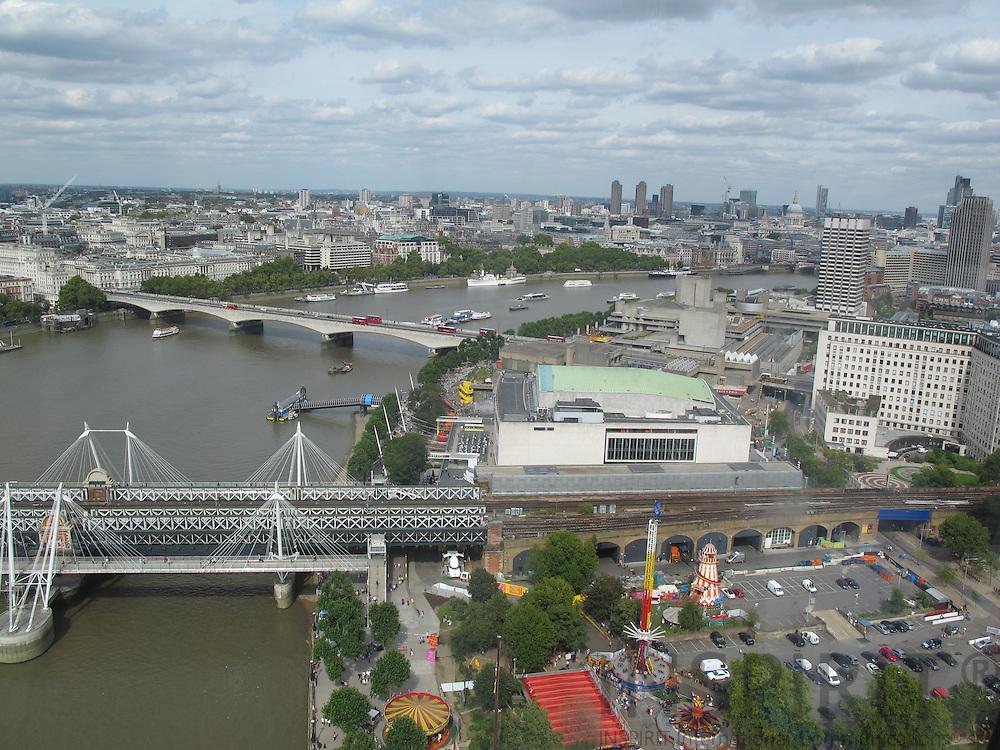 Birds view from London Eye. Photo: Tuuli Sauren / Inspirit International Communications