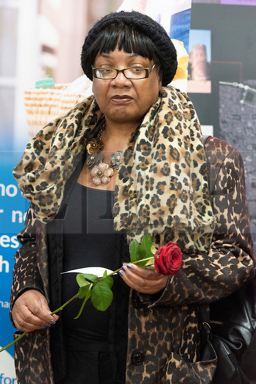 © Licensed to London News Pictures. 03/03/2019. London, UK. Diane Abbott MP visits Finsbury Park Mosque for Visit My Mosque Day. Photo credit: Ray Tang/LNP