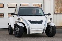 C-Zen: cette nouvelle voiture écologique et non-polluante fonctionnant à l'électricité verra le jour officiellement le 31 mars. Herve Arnaud, CEO.