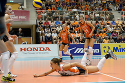 08-08-2014 NED: FIVB Grand Prix Nederland - Puerto Rico, Doetinchem<br /> Myrthe Schoot