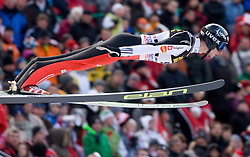 Robert Kranjec of Slovenia competes during First round of the FIS Ski Jumping World Cup event of the 58th Four Hills ski jumping tournament, on January 3, 2010 in Bergisel, Innsbruck, Austria.(Photo by Vid Ponikvar / Sportida)