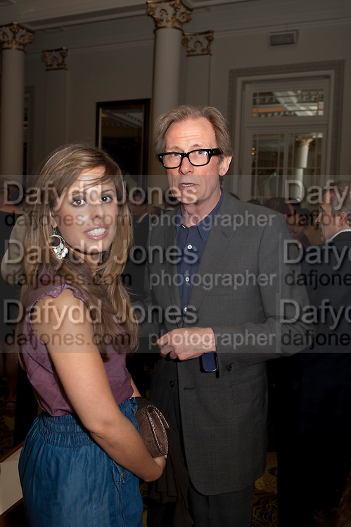 victoria anne bull; BILL NIGHY, Langham Hotel party after a major renovation. Portland Place, London. 10 June 2009