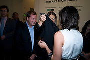 MATTHEW FREUD; LILY ALLEN, The Revolution Continues: New Art From China. The opening of the New Saatchi Gallery. King's Rd.  London. 7 October 2008. *** Local Caption *** -DO NOT ARCHIVE-© Copyright Photograph by Dafydd Jones. 248 Clapham Rd. London SW9 0PZ. Tel 0207 820 0771. www.dafjones.com.