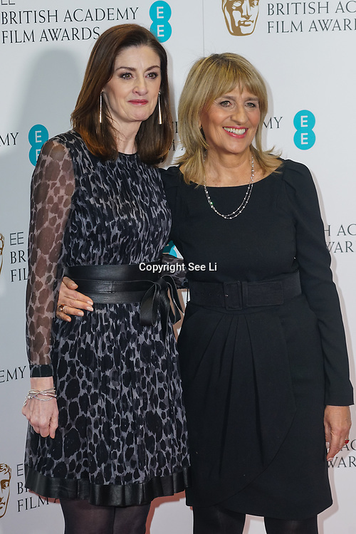 London, England, UK. 9th January 2018. Amanda Berry OBE, Jane Lush attend EE British Academy Film Awards Nominations, London, UK