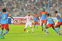 September 1, 2017 - Tunis, Tunisia - Naim Sliti(23) of Tunisia   during the qualifying match for the World Cup Russia 2018 between Tunisia and the Democratic Republic of Congo (RD Congo) at the Rades stadium in Tunis. (Credit Image: © Chokri Mahjoub via ZUMA Wire)