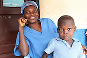 Even nurse Tecle couldn't prevent her son from becoming malnourished. But she explains how he was saved by Action Against Hunger after he became very ill in 2010.<br />  <br /> &quot;My child was in pain, he had a high fever and was sick with typhoid. He couldn't eat, he didn't have any appetite. I was desperate, it consumed all of our energy.<br />  <br /> &quot;When Action Against Hunger came here though, they quickly took care of him and gave him PlumpyNut - and from that moment he recovered. I'm very grateful to Action Against Hunger because I think my child would have died otherwise. They did a great job - now he wants to be a doctor when he grows up!&quot;