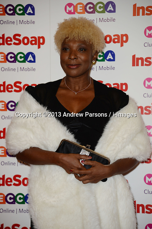 Inside Soap Awards.<br /> Lorna Laidlaw arrives for the Inside Soap Awards, Ministry of Sound, London, United Kingdom,<br /> Monday, 21st October 2013. Picture by Andrew Parsons / i-Images