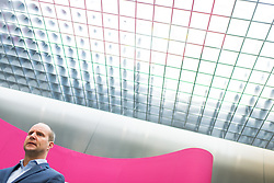 31.03.2017, Parlament, Wien, AUT, NEOS, Pressekonferenz zur Vorstellung der neuen Abgeordneten Doppelbauer anlässlich des Ausscheidens von Abgeordneten Alm. im Bild Klubobmann NEOS Matthias Strolz // Leader of the Parliamentary Group NEOS Matthias Strolz during press conference of NEOS in Vienna, Austria on 2017/03/31. EXPA Pictures © 2017, PhotoCredit: EXPA/ Michael Gruber