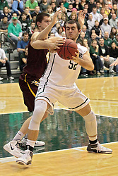 14 March 2014:  Mike Marietti during an NCAA mens division 3 quarter final basketball game between the Calvin Knights and the Illinois Wesleyan Titans in Shirk Center, Bloomington IL