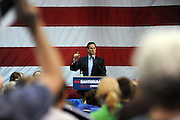 Photo By Michael R. Schmidt.Republician Presidential candidate Rick Santorum at a rally in Arlington Heights, IL 2012.