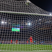 PARIS, FRANCE - September 10:   Kingsley Coman #11 of France scores his sides first goal during the France V Andorra, UEFA European Championship 2020 Qualifying match at Stade de France on September 10th 2019 in Paris, France (Photo by Tim Clayton/Corbis via Getty Images)
