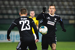 Klemen Šturm of Mura and Jon Šporn of Mura during football match between NŠ Mura and NK Bravo in 20th Round of Prva liga Telekom Slovenije 2019/20, on December 5, 2019 in Fazanerija, Murska Sobota, Slovenia. Photo by Blaž Weindorfer / Sportida