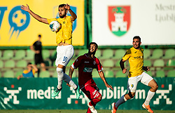 Mustafa Nukić of Bravo during football match between NK Bravo and NK Aluminij in 5th Round of Prva liga Telekom Slovenije 2019/20, on August 9, 2019 in Sports park ZAK, Ljubljana, Slovenia. Photo by Vid Ponikvar / Sportida