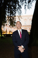 ROME, ITALY - 3 JUNE 2015: President of the American Academy Mark Robbins pose for a for a portrait at the McKim Medal Gala honouring Carlo Petrini and Paolo Sorrentino at the American Academy  in Rome, Italy, on June 3rd 2015.