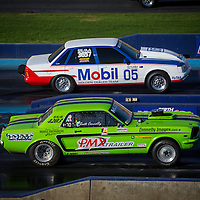 2014 ANZAC Day Holden vs Ford Drag Racing