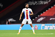 Andros Townsend (10) of Crystal Palace during the EFL Cup match between Bournemouth and Crystal Palace at the Vitality Stadium, Bournemouth, England on 15 September 2020.