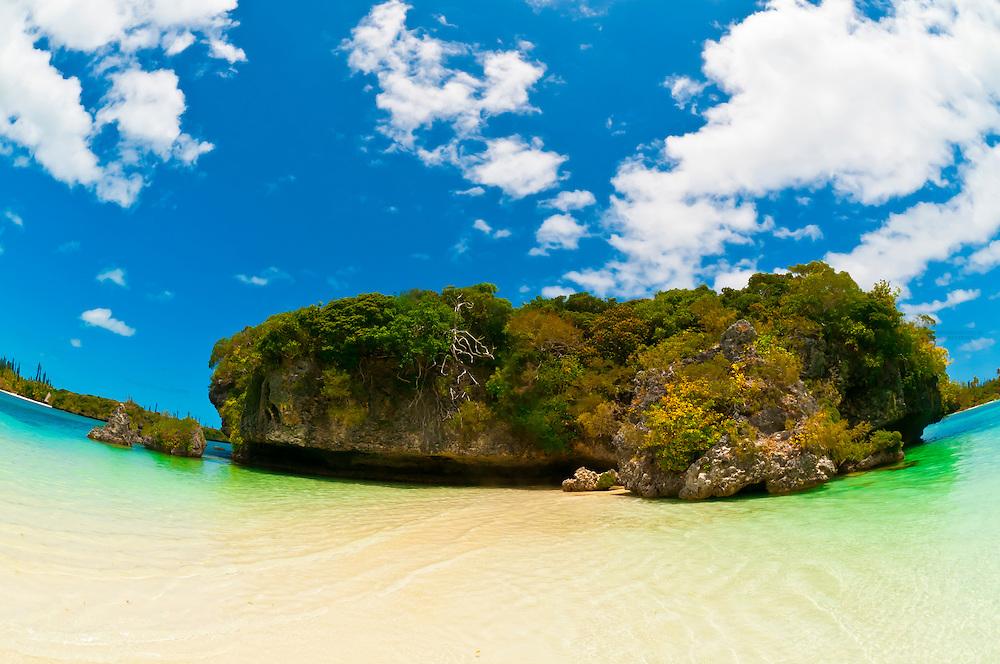 Bay of Kanumera, near the Oure Tera Beach Resort, Ile des Pins (Isle of Pines), New Caledonia
