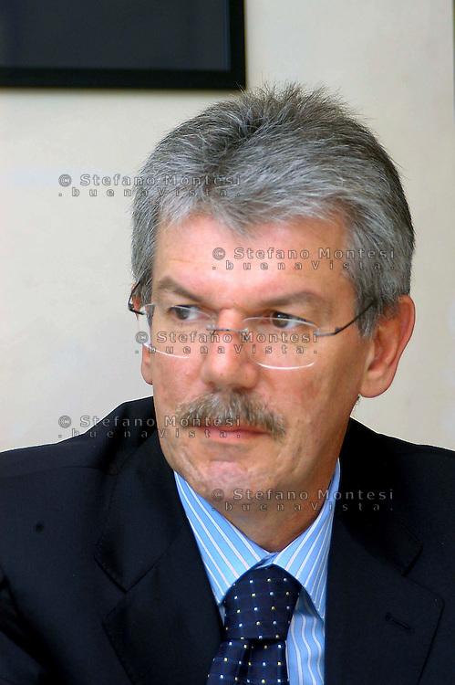 Roma 28 Settembre 2007.Gianfranco Schiava, .Gianfranco Schiava, Managing Director della Electrolux Zanussi Italia spa.http://www.electrolux.com.