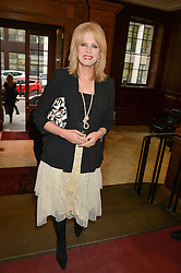 JOANNA LUMLEY at the LDNY Fashion Show and WIE Award Gala sponsored by Maserati held at The Goldsmith's Hall, Foster Lane, City of London on 27th April 2015.
